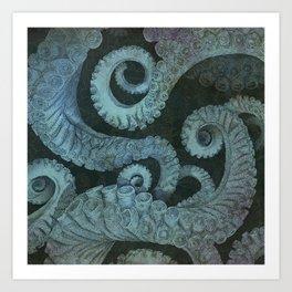 Octopus 2 Art Print
