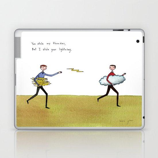 you stole my thunder Laptop & iPad Skin