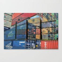 Hamburg Harbour II Canvas Print