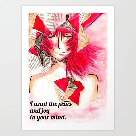Peace and Joy  Art Print