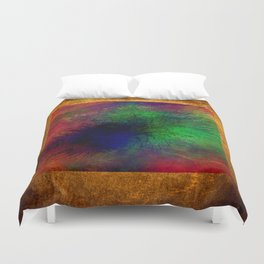 geometric  abstract 454 Duvet Cover