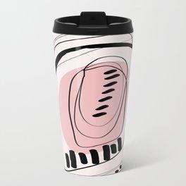 Modern minimal forms 11 Metal Travel Mug