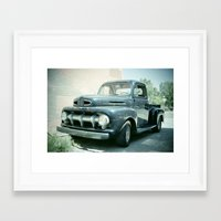 ford Framed Art Prints featuring Ford by Photofrazzle