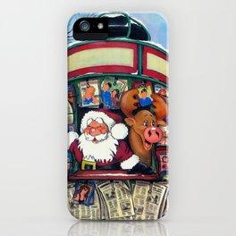 SANTA'S KIOSK iPhone Case