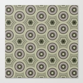 Fractal Cogs n Wheels in CMR03 Canvas Print