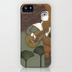 The Guitar Player iPhone (5, 5s) Slim Case