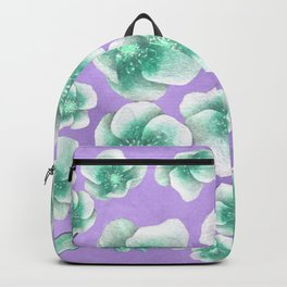 Between Blue and Purple Backpack