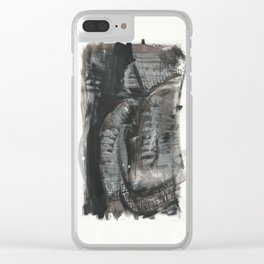 Black fantasy Clear iPhone Case