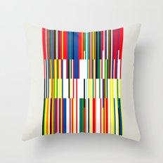 National Colors Throw Pillow