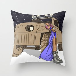 SPACE LAVENDER Throw Pillow