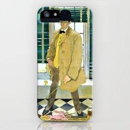 Self-Portrait - Sir William Orpen iPhone Case