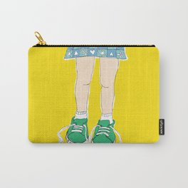 Tying Shoes Carry-All Pouch
