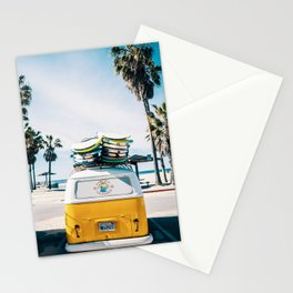 Surfing van Stationery Cards