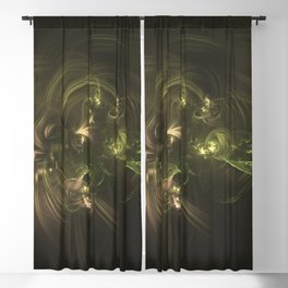 Geometric Cosmic Light 131 Blackout Curtain