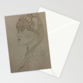 Far East Mention Mannequins Stationery Cards