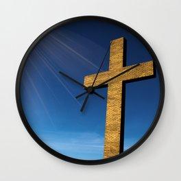 Heaven's Cross Wall Clock
