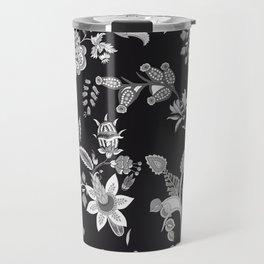 Black Onyx Chinoiserie Travel Mug