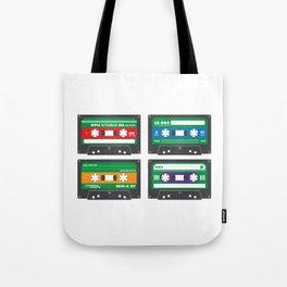 Teenage Mutant Ninja Mixtapes Tote Bag