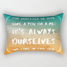 BEACH LOVE Rectangular Pillow