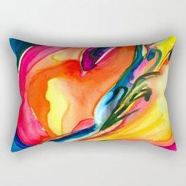 Soul Flower No.6 by Kathy Morton Stanion Rectangular Pillow