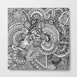 Doodle 17 Metal Print