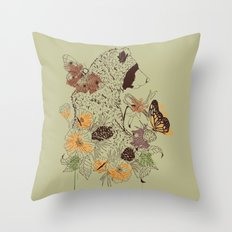 Northern Bear Throw Pillow