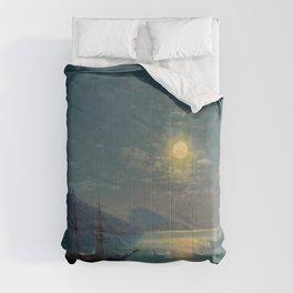 Evening in Crimea by Ivan Aivazovsky Comforters