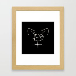 Tranarchy Framed Art Print
