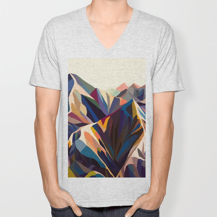 Mountains original Unisex V-Neck