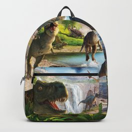 Jurassic dinosaur Backpack