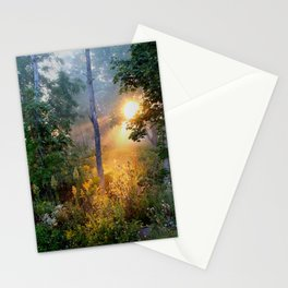 Sunrise in the Dreamy Mist Stationery Cards