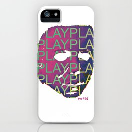 The Shape iPhone Case