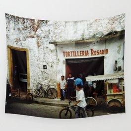 Tortilleria Rosario Wall Tapestry