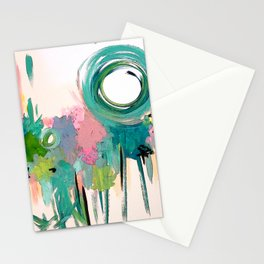 Monday in the Garden Stationery Cards