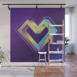 le coeur impossible (nº 3) Wall Mural
