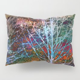 trees in the night Pillow Sham