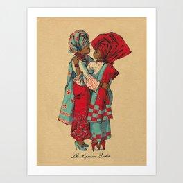 The Nigerian Brides Art Print