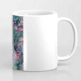 Birds and Flowers Color Pencil Coffee Mug