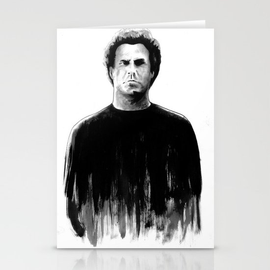 DARK COMEDIANS: Will Ferrell Stationery Cards