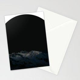 dark moon Stationery Cards