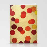 circles Stationery Cards featuring Circles by SensualPatterns