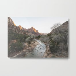 Canyon Junction, Zion National Park, Utah Metal Print
