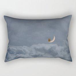 The Man in the Moon Rectangular Pillow
