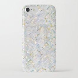 woven seashells iPhone Case