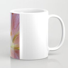 up close and personal - pink lily Coffee Mug