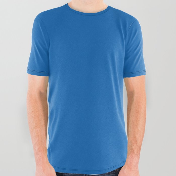 1c2365cb4aa1 Australian Outback Bright Blue Lake Billabong All Over Graphic Tee ...