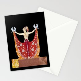 "1920's Art Deco Design ""Venus"" Stationery Cards"