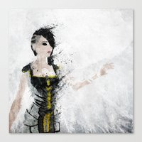 angel Canvas Prints featuring Angel by Melissa Smith