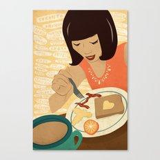 Toronto Brunch Canvas Print