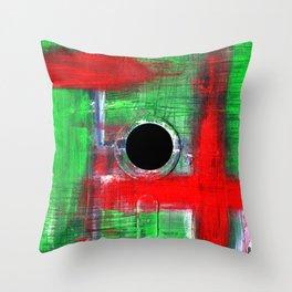 Floppy 9 Throw Pillow